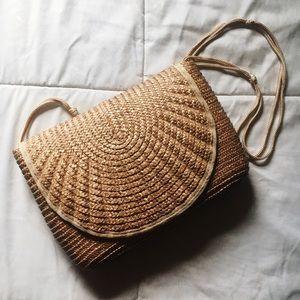 American Vintage Bags - Vintage Wicker / Woven Straw Bag